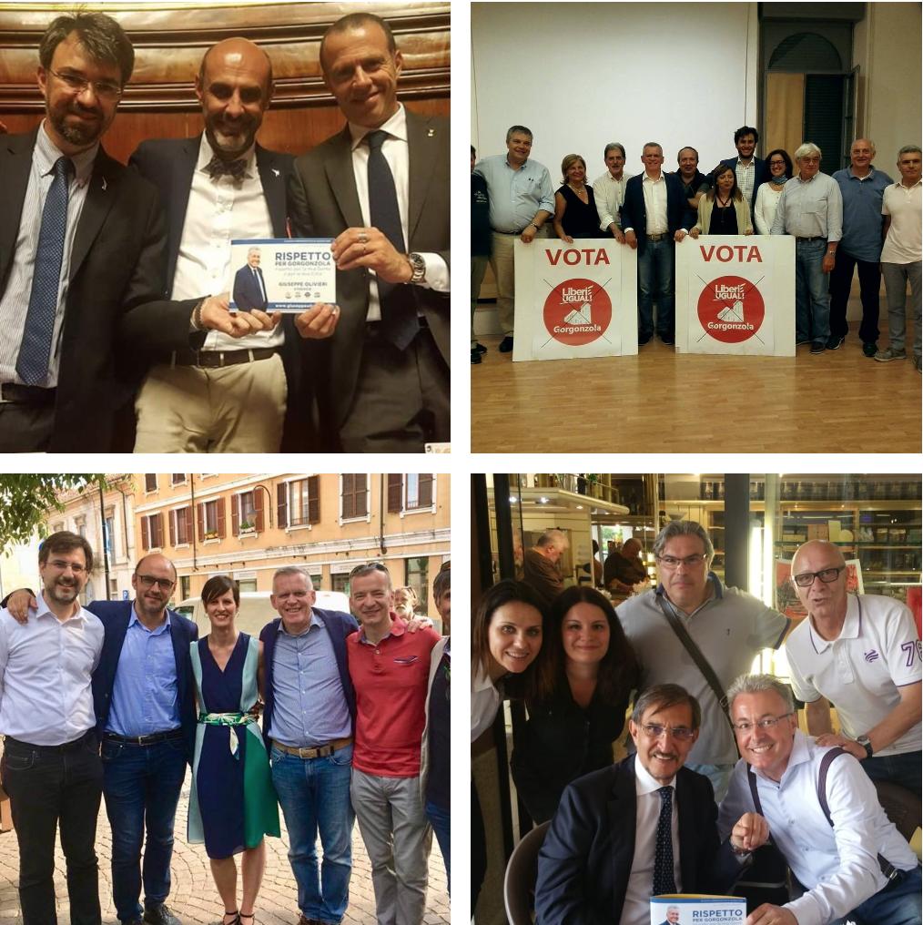 Senatori e consiglieri regionali in campo per olivieri e for Lista senatori